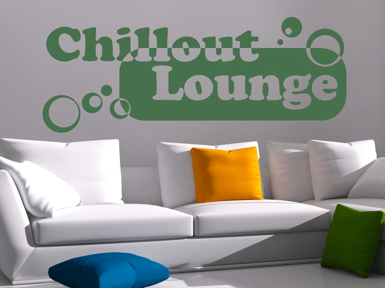 Lounge Wohnzimmer | Wandtattoo Chillout Lounge Wohnzimmer Schlafzimmer Kuche Tocut