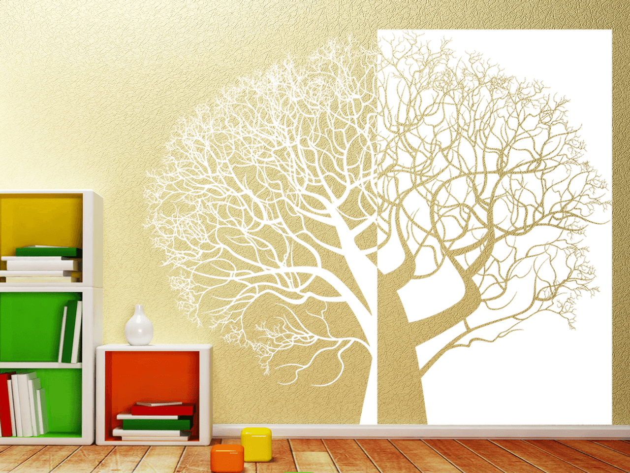 wandtattoo baum xxl 236cm x 200cm zweiteilig tocut. Black Bedroom Furniture Sets. Home Design Ideas