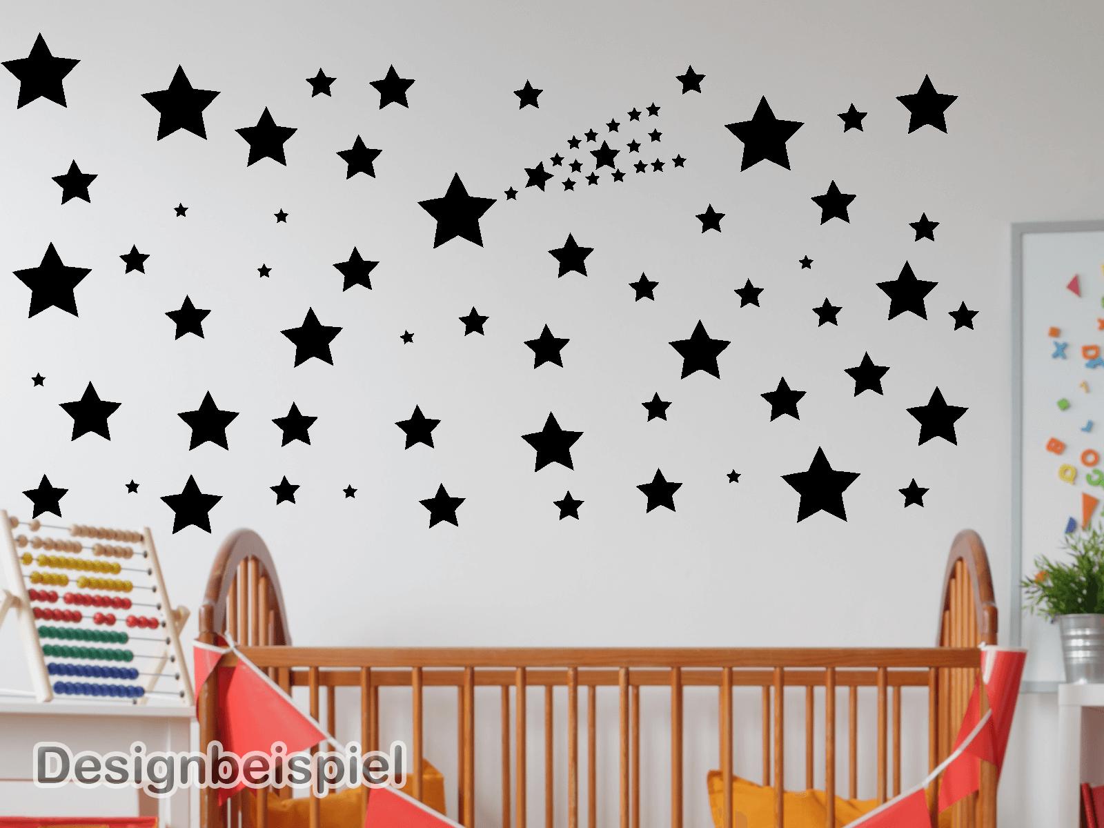 Elegant Sterne Wandtattoo Foto Von Sterne-set